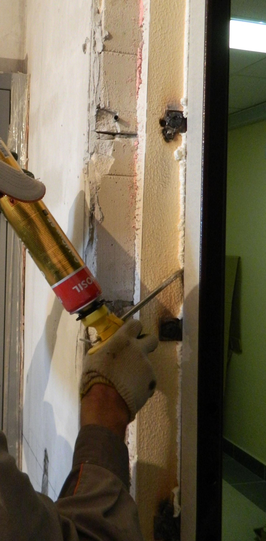 дверь металлическая и монтаж