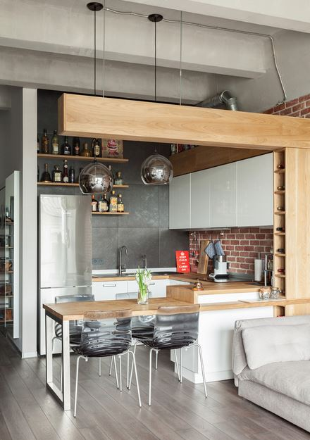 маленькая кухня 8 потрясающих идей для хранения
