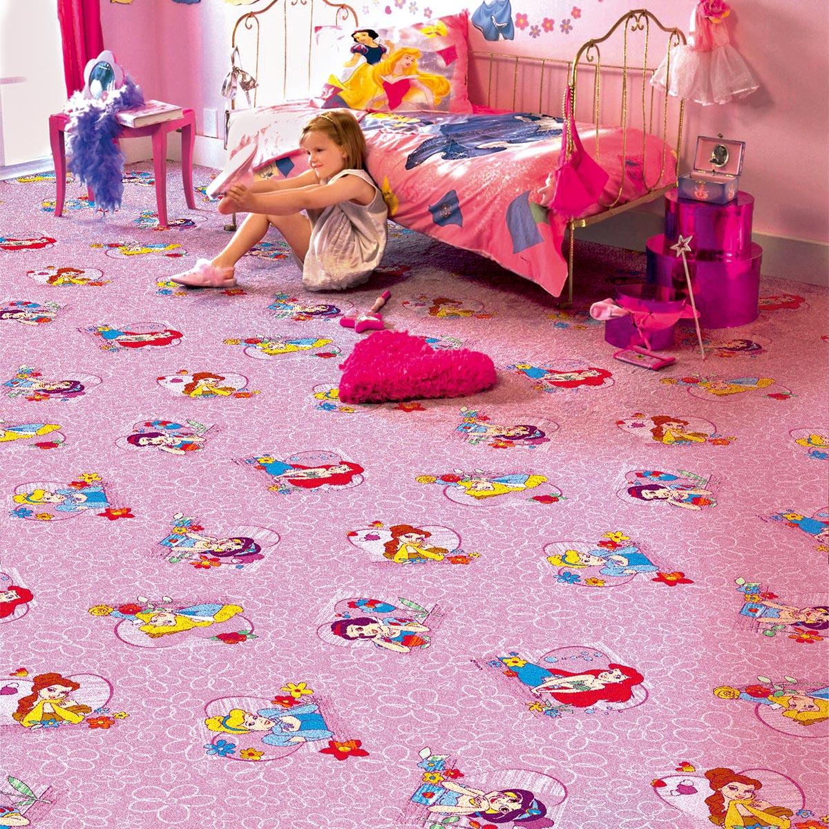 Ковёр в детскую комнату для девочек своими руками 92