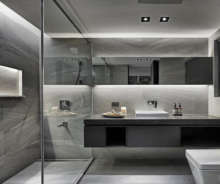 Мрамор в ванной комнате: 7 стилей интерьера, в которых будет уместен холодный камень
