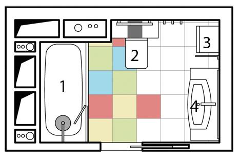 12 дизайн-проектов ванных комнат
