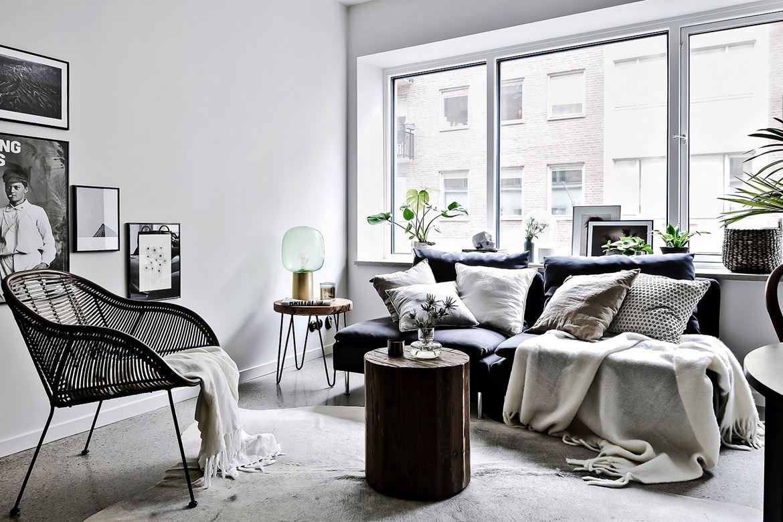 Скандинавский стиль для небольшой квартиры