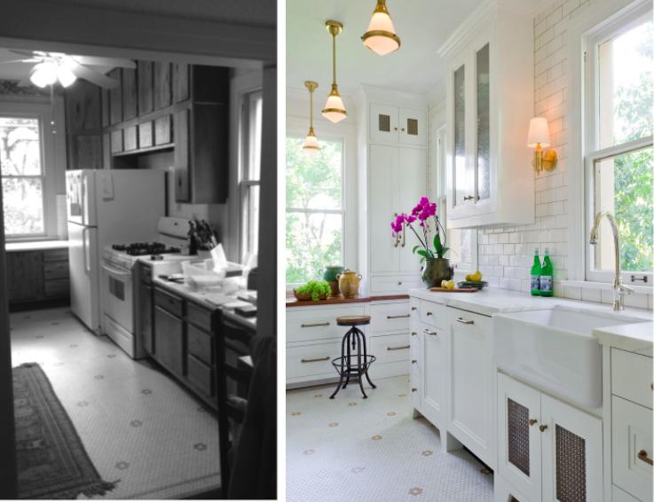 Косметический ремонт кухни фото