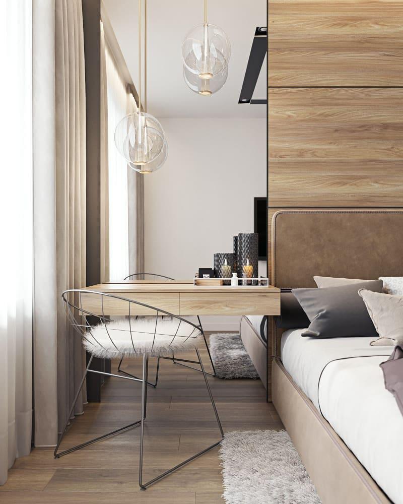 Туалетный столик в интерьере спальни — идеи, советы, фото