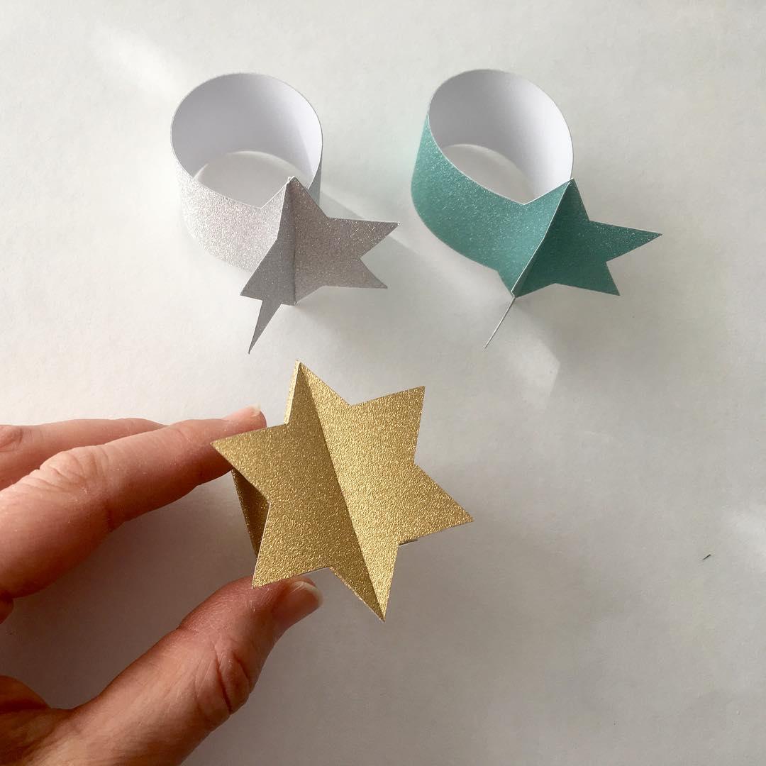 бумажные кольца для салфеток декор дизайн фото