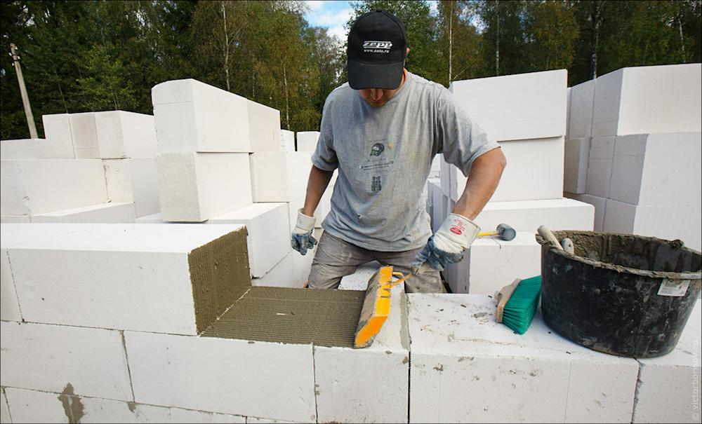 Это он, ячеистый бетон…
