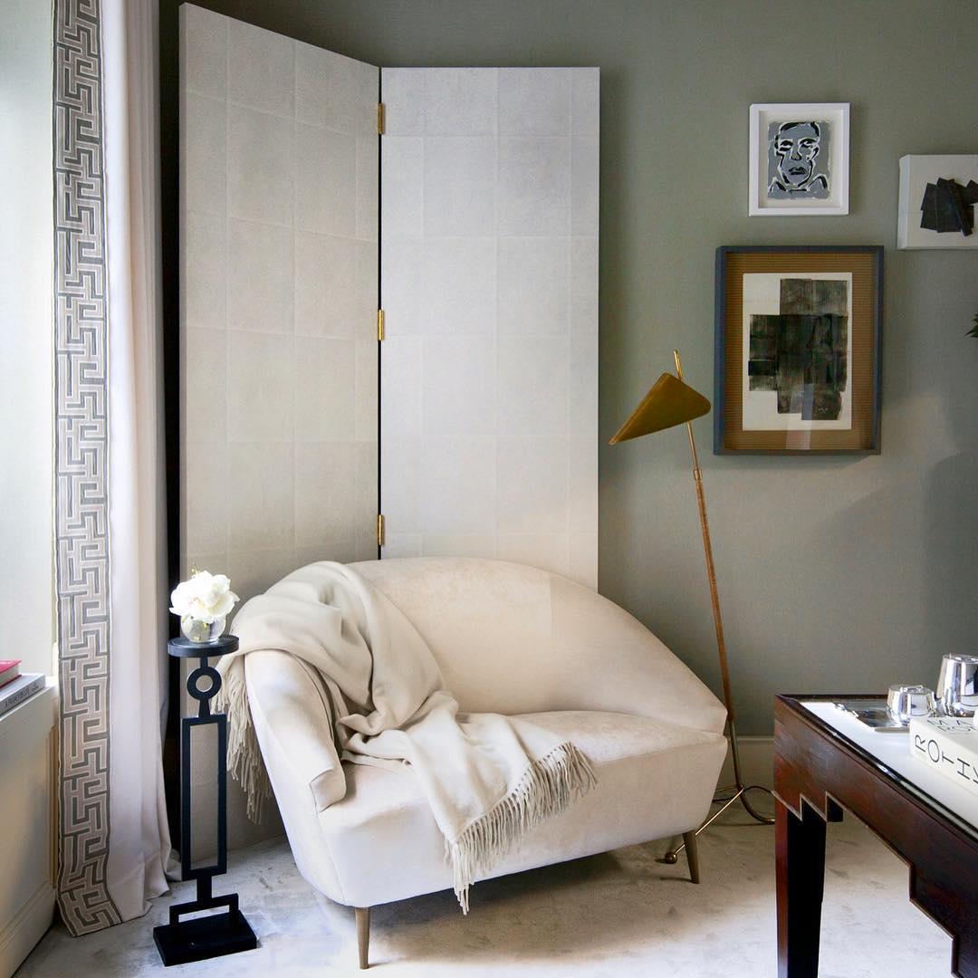 Ширма для корректировки формы комнаты пример
