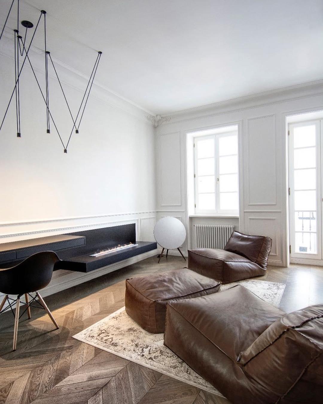 Гостиная в стиле минимализм: фото