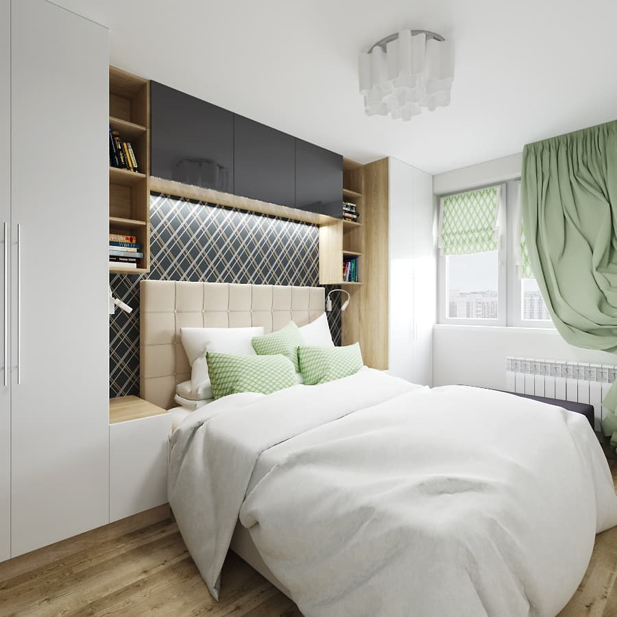 маленькая спальня