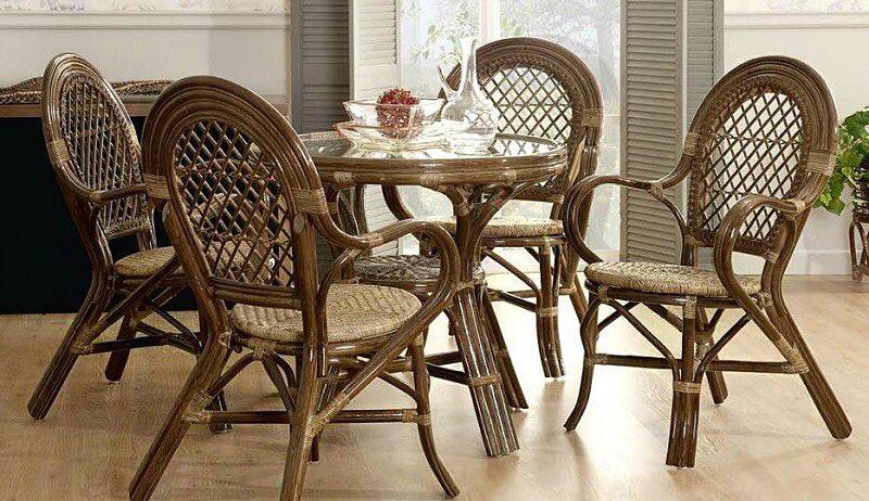 Мебель из ротанга в интерьере квартиры: фото