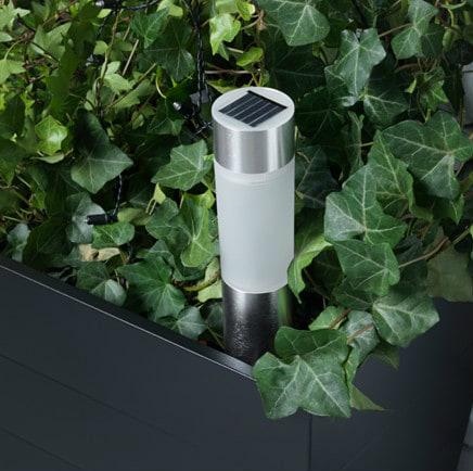 Светильник для дома на солнечной батарее: фото