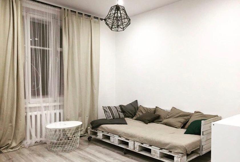Мебель из паллет: фото