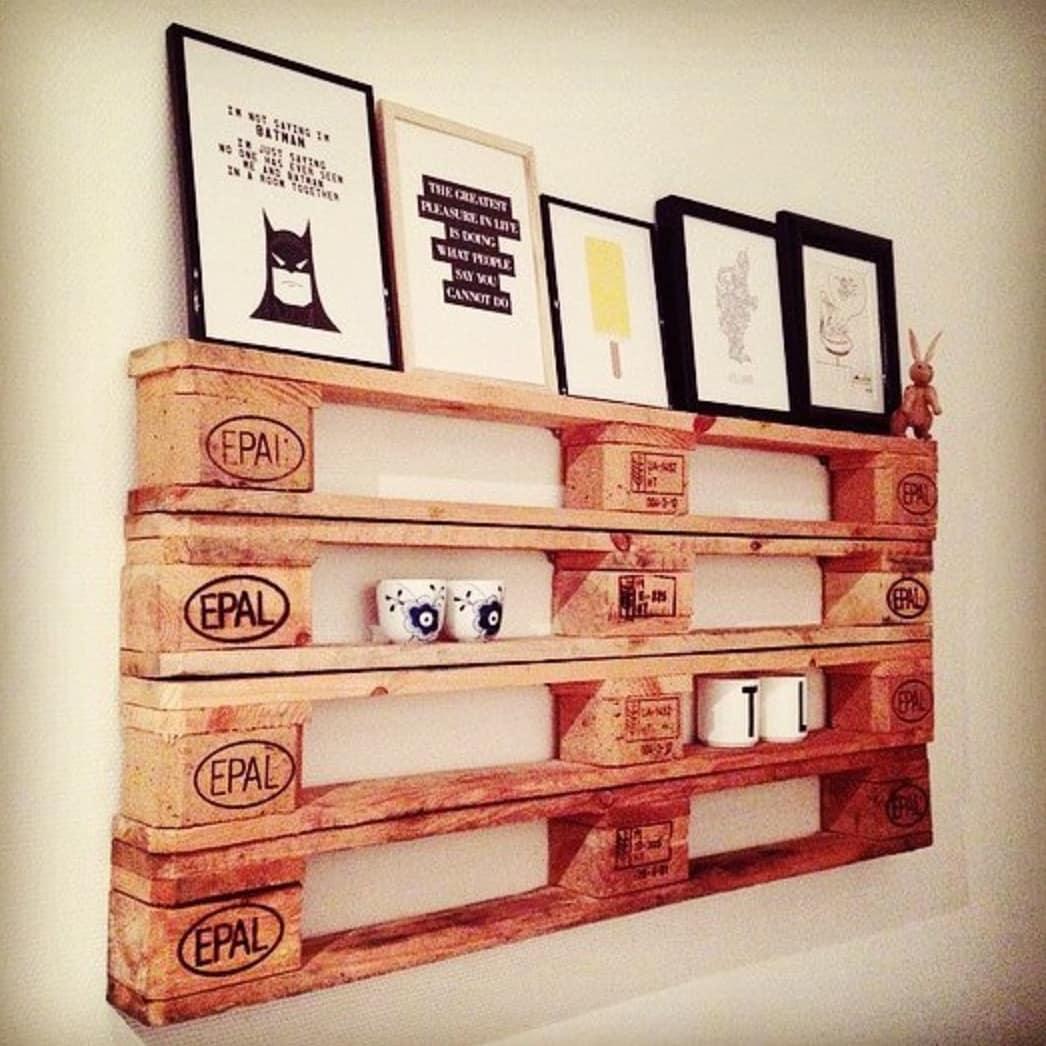 Мебель из паллет в интерьере: фото