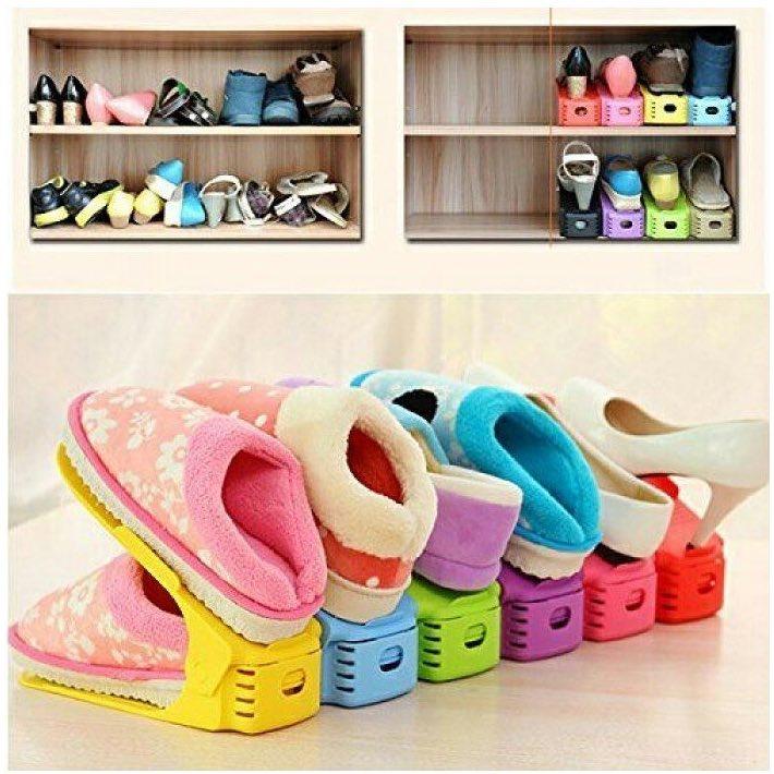 da69634c2cc3 13 идей для хранения обуви, которые вас удивят
