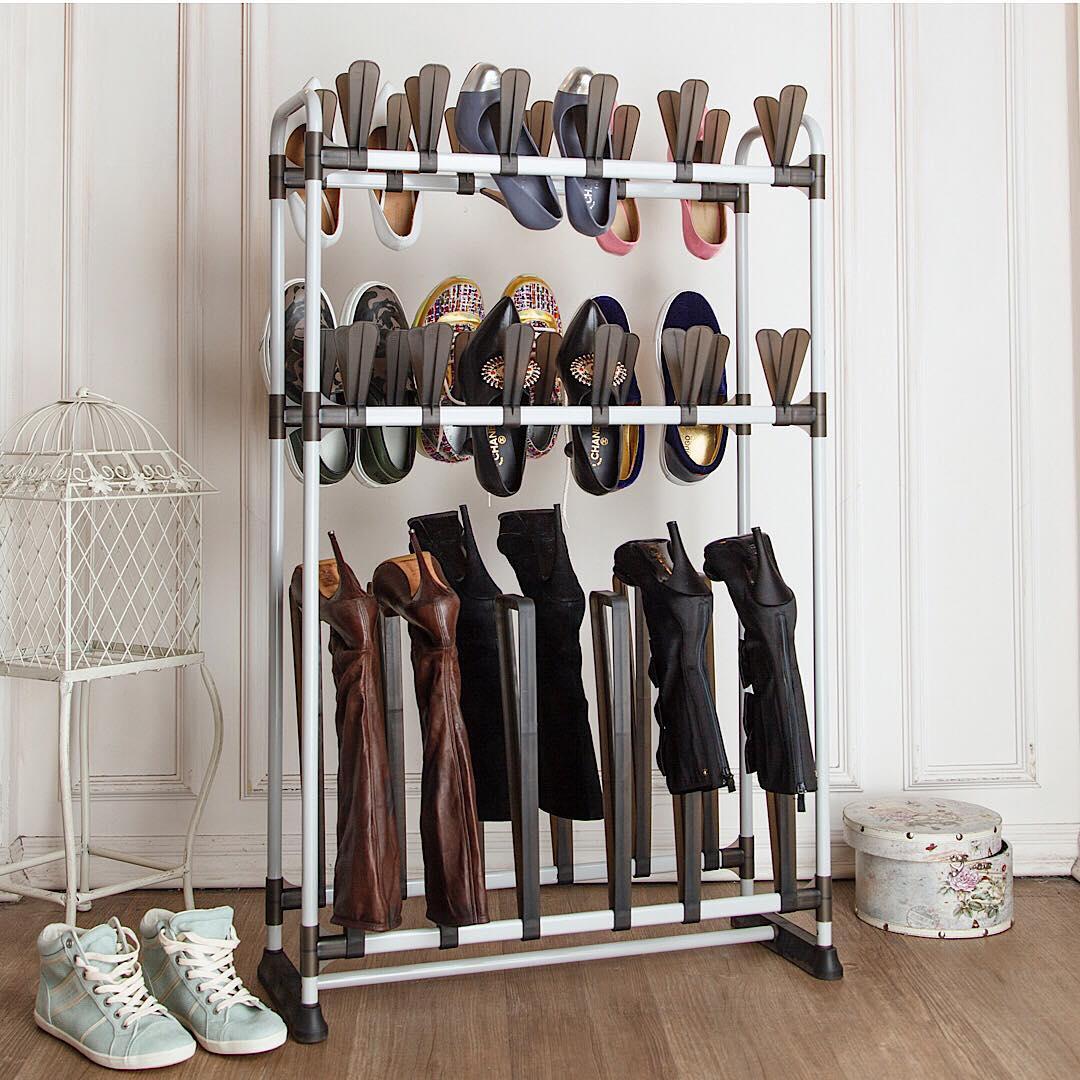 13 идей для хранения обуви, которые вас удивят