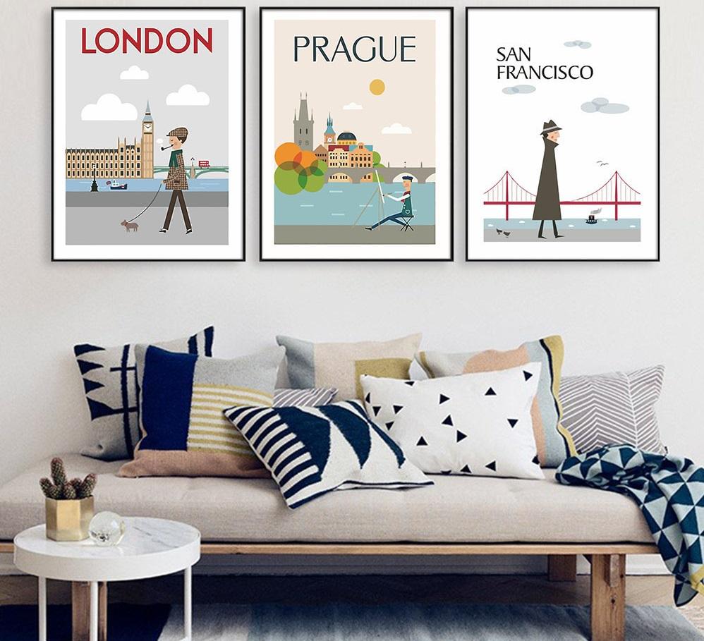 Постеры с городами