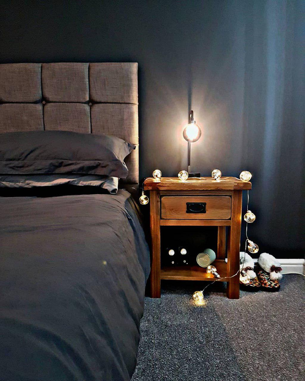 Интересные решения в освещении спальни