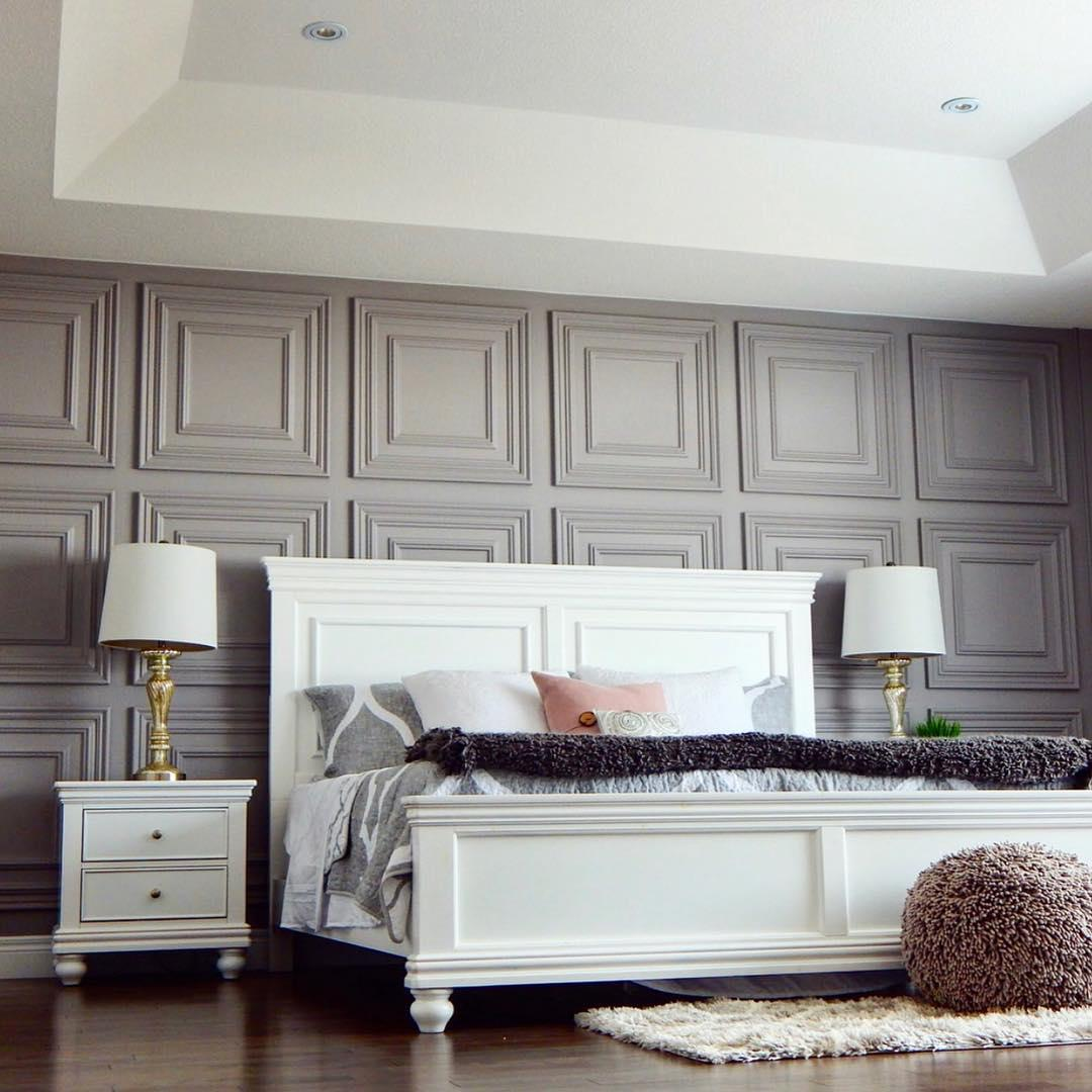 Дизайн комнаты с декоративными панелями