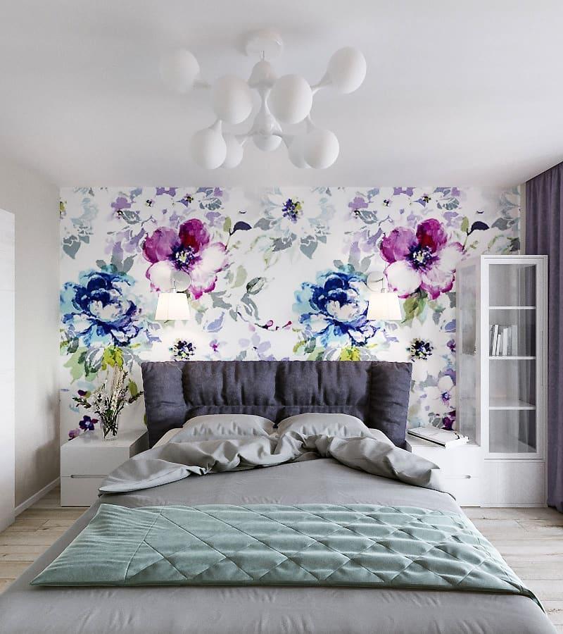 Весеннее настроение комнаты в сером