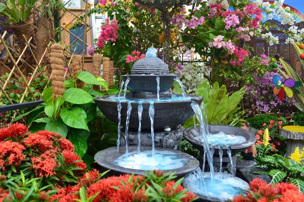 фонтан на даче