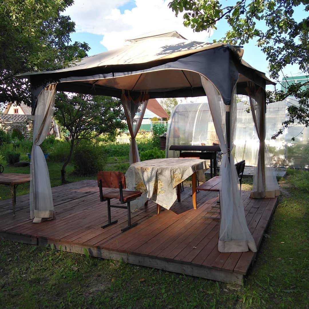 Беседка-шатер  фото