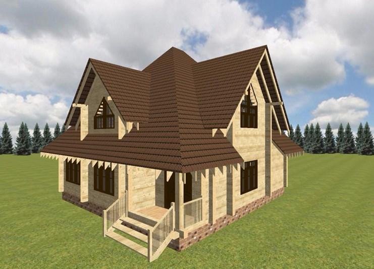 Программа для проектирования домов из бруса