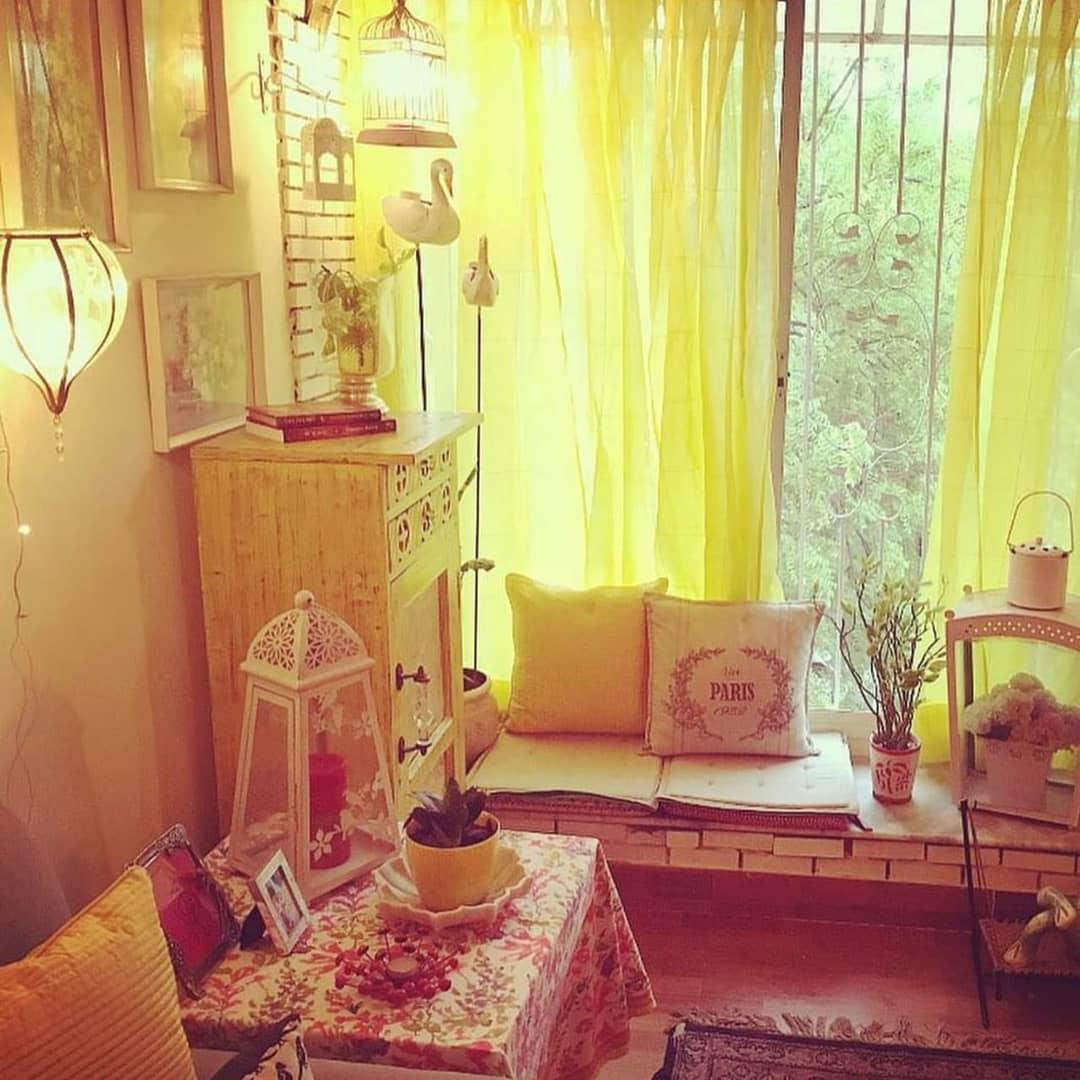 Солнечный желтый цвет в интерьере