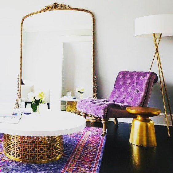 Яркие решения в дизайне комнаты