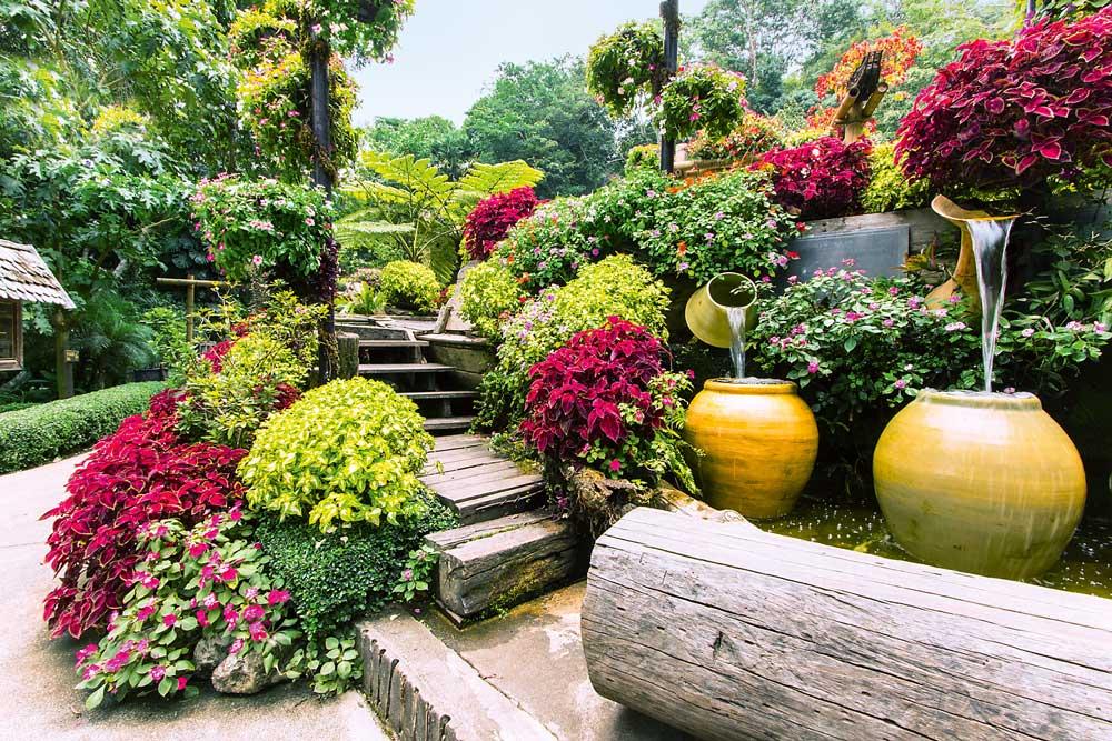 Садовый акцент