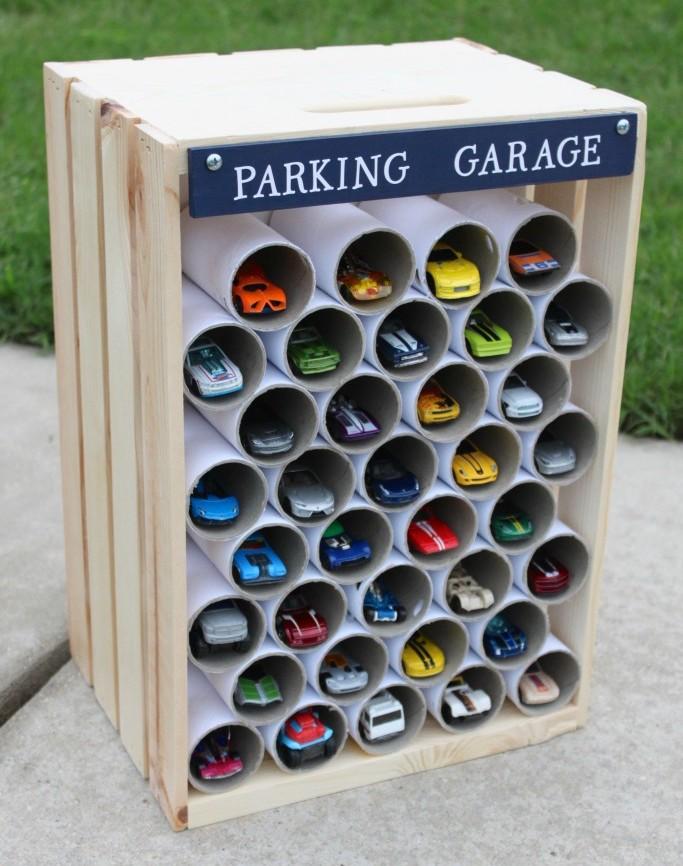 Детский гараж фото