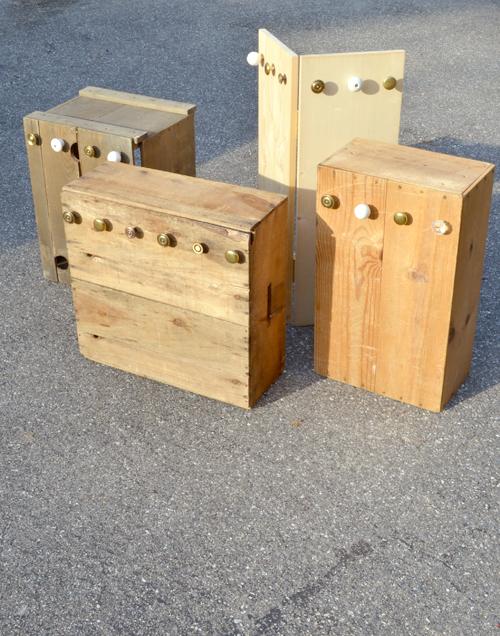 Система хранения для украшений из ящиков