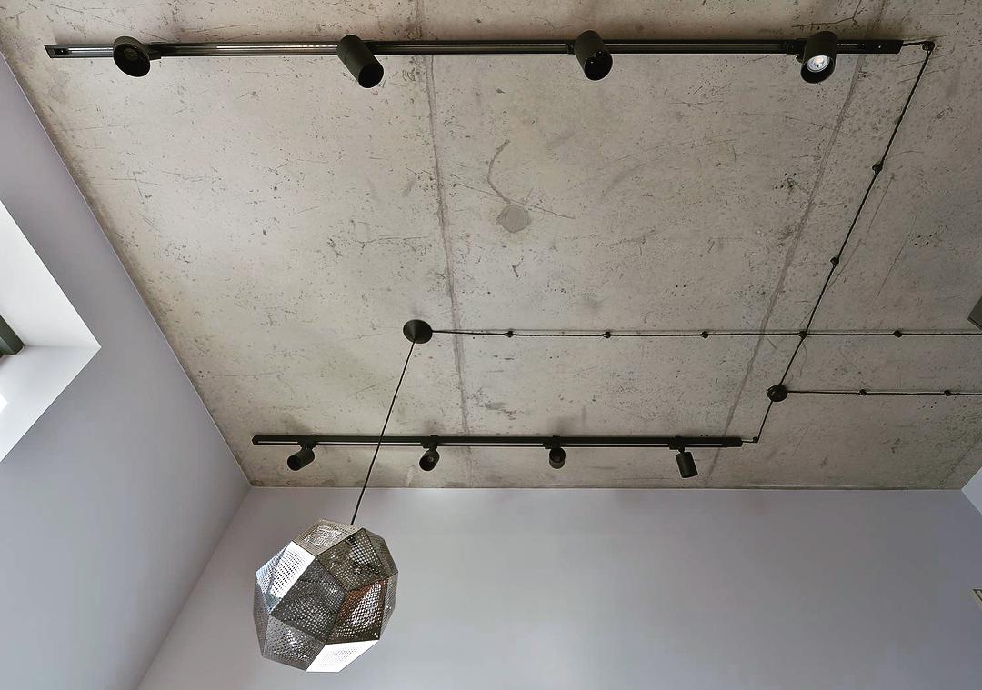 Потолок цвета бетона цемент стоматологический купить в москве