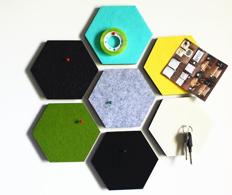 Декор из шестигранников