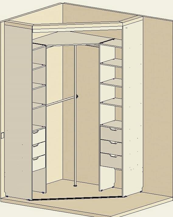 шкаф купе своими руками чертежи и пошаговая инструкция стильный и