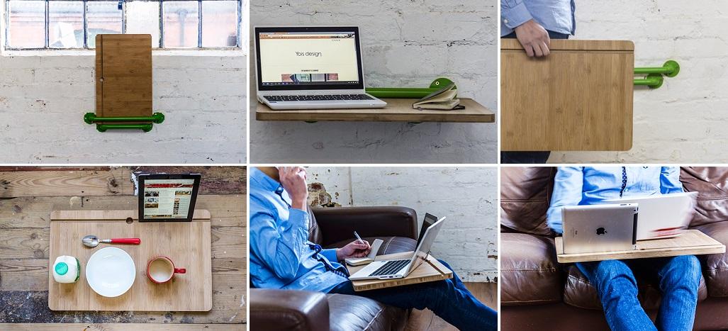Портативный стол от Yois Design