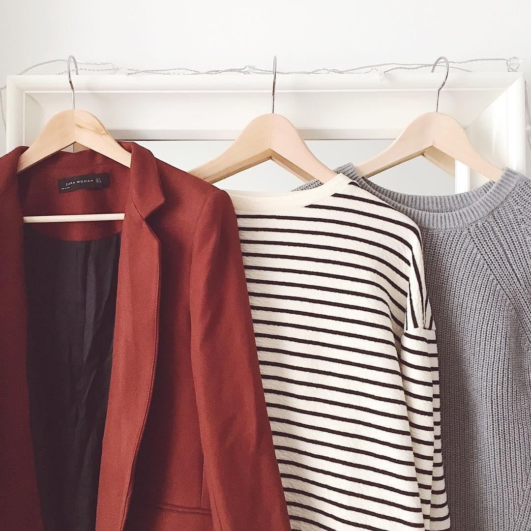 Осенний гардероб фото