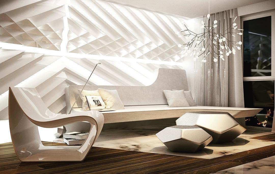 7 футуристичных интерьеров, в которых удобно жить