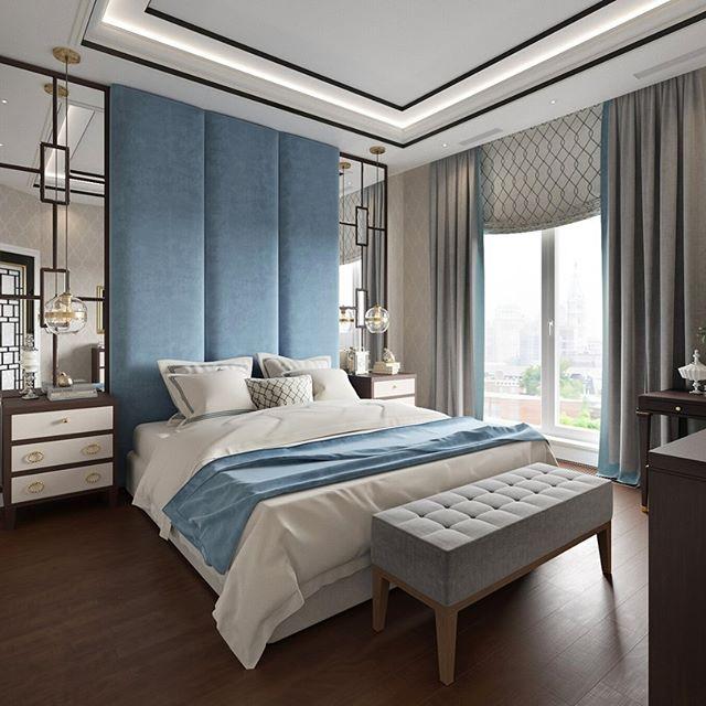Шторы бежевого цвета для спальни