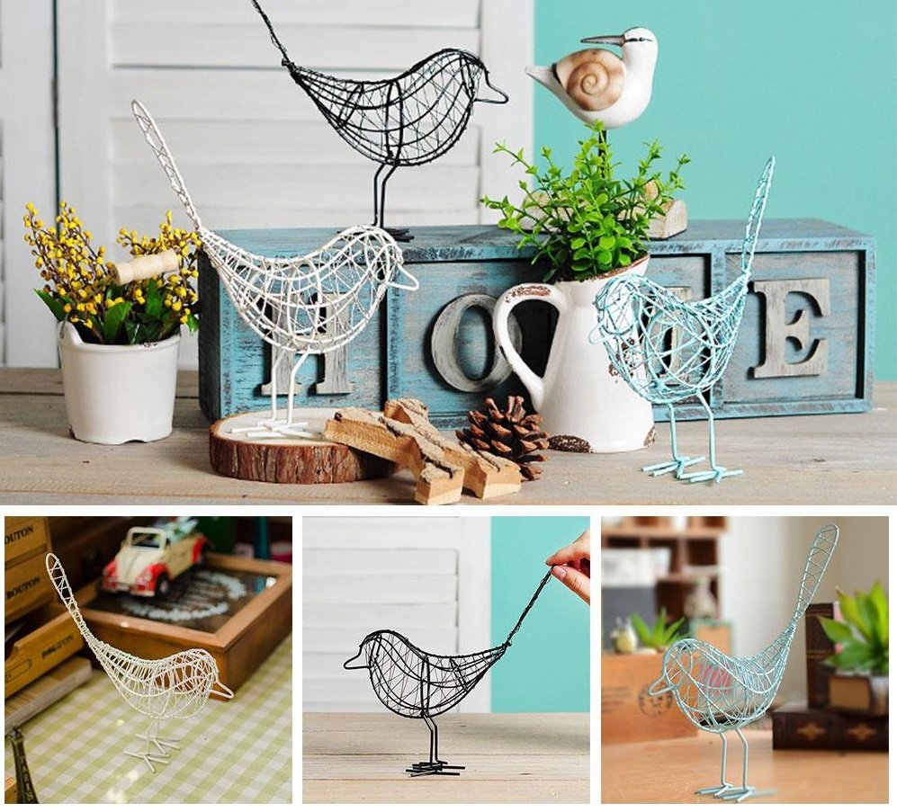 Декоративные птички