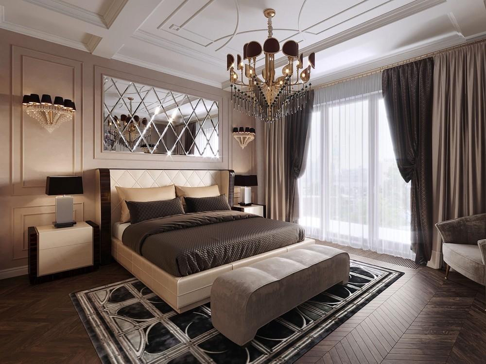 Черные шторы для спальни